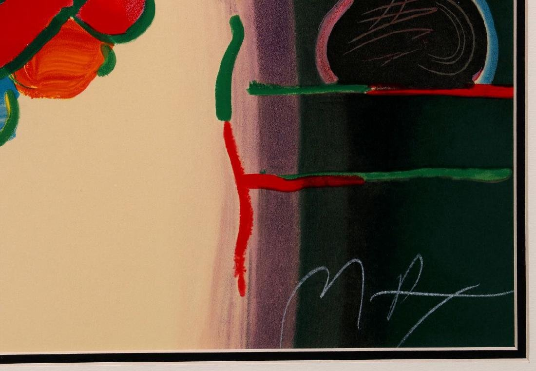 PETER MAX (B. 1937) SIGNED SERIGRAPH - 7