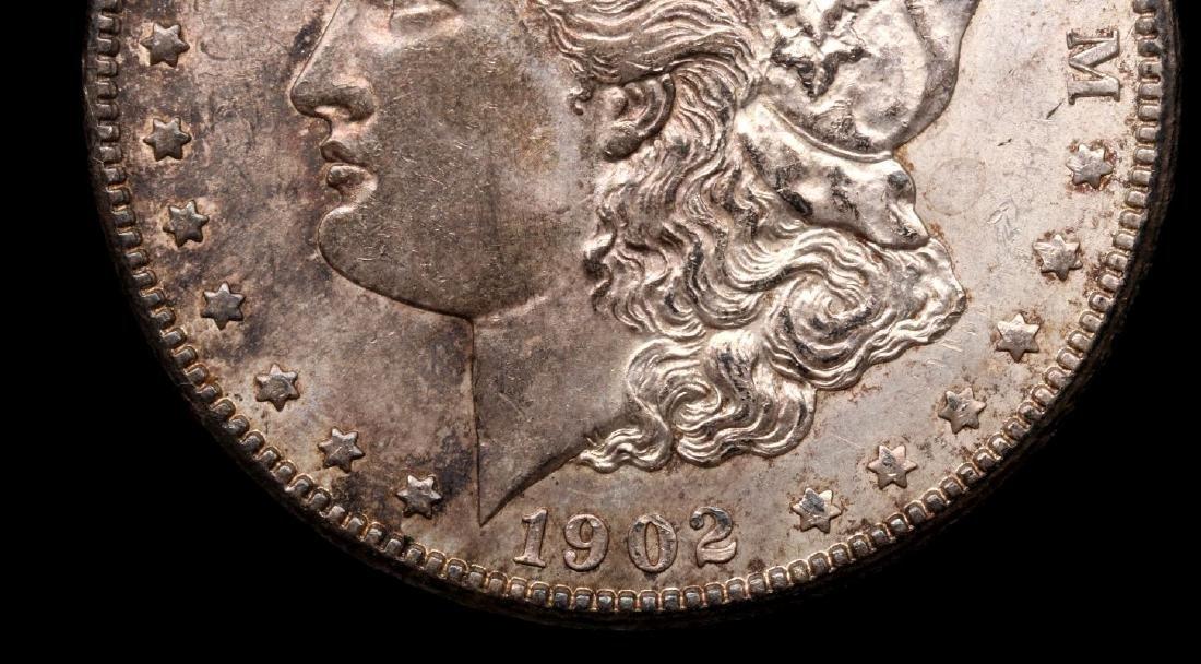 1902-O MORGAN SILVER DOLLAR - 3