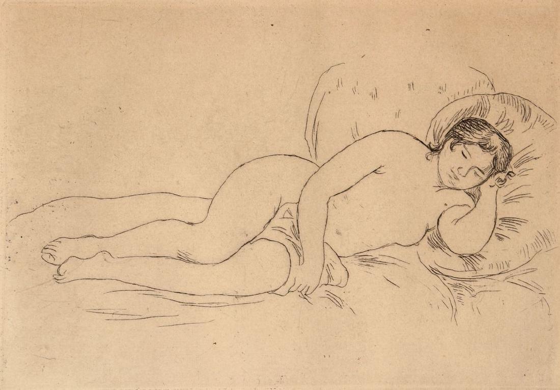 PIERRE AUGUSTE RENOIR (1841-1919) ETCHING