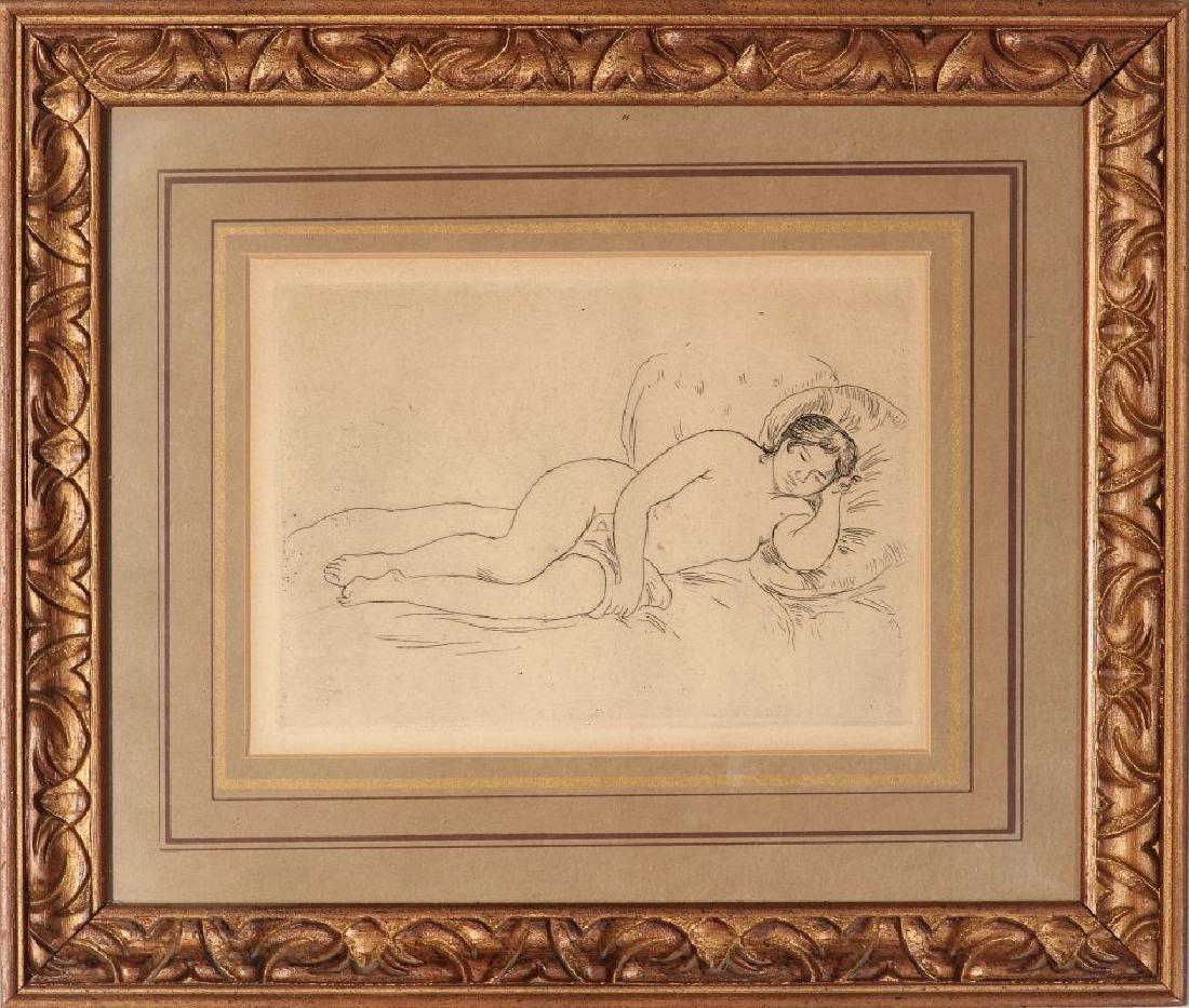 PIERRE AUGUSTE RENOIR (1841-1919) ETCHING - 2