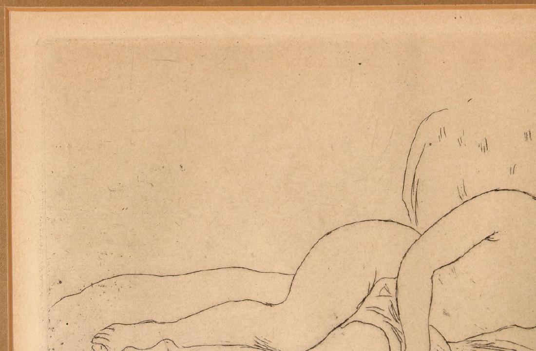 PIERRE AUGUSTE RENOIR (1841-1919) ETCHING - 3