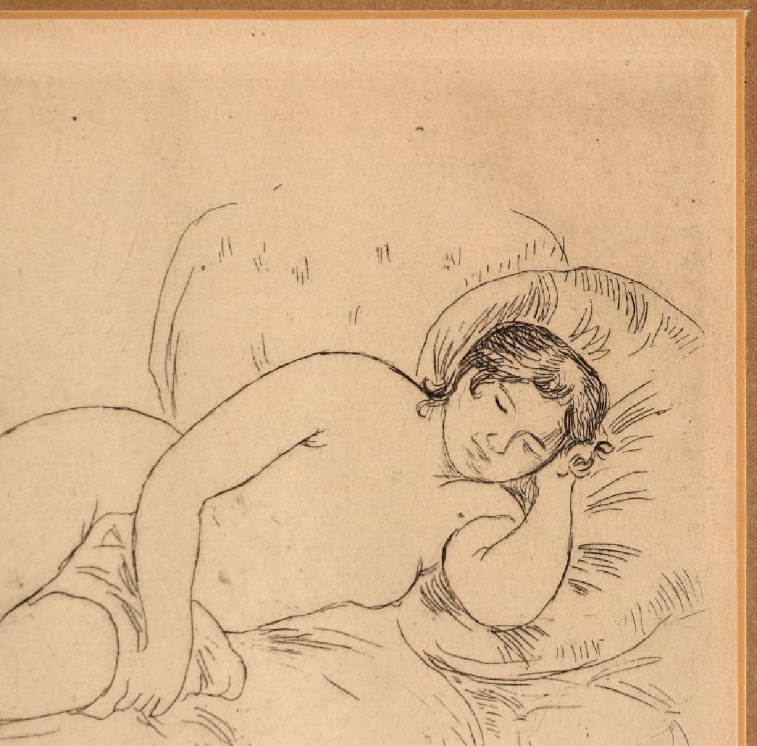 PIERRE AUGUSTE RENOIR (1841-1919) ETCHING - 4