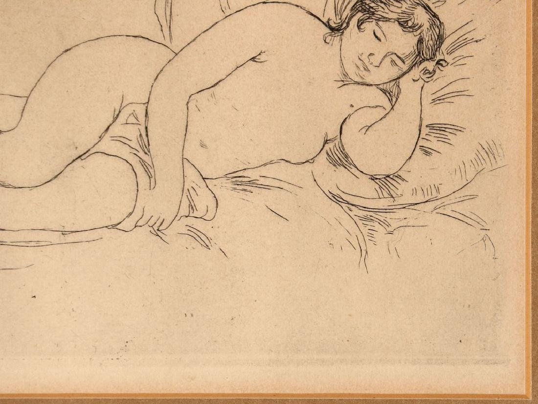 PIERRE AUGUSTE RENOIR (1841-1919) ETCHING - 5