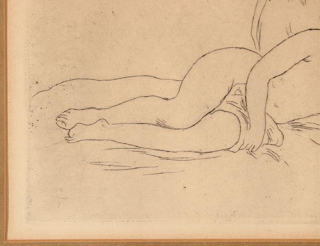 PIERRE AUGUSTE RENOIR (1841-1919) ETCHING - 6