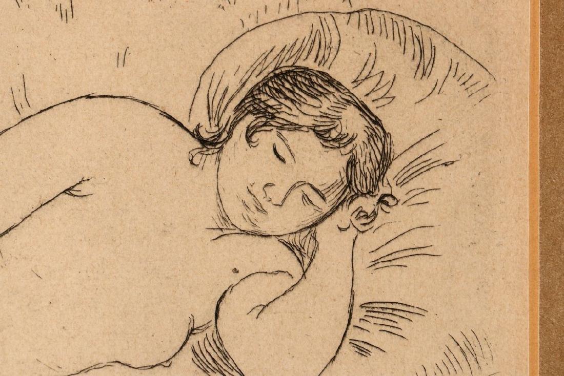 PIERRE AUGUSTE RENOIR (1841-1919) ETCHING - 7