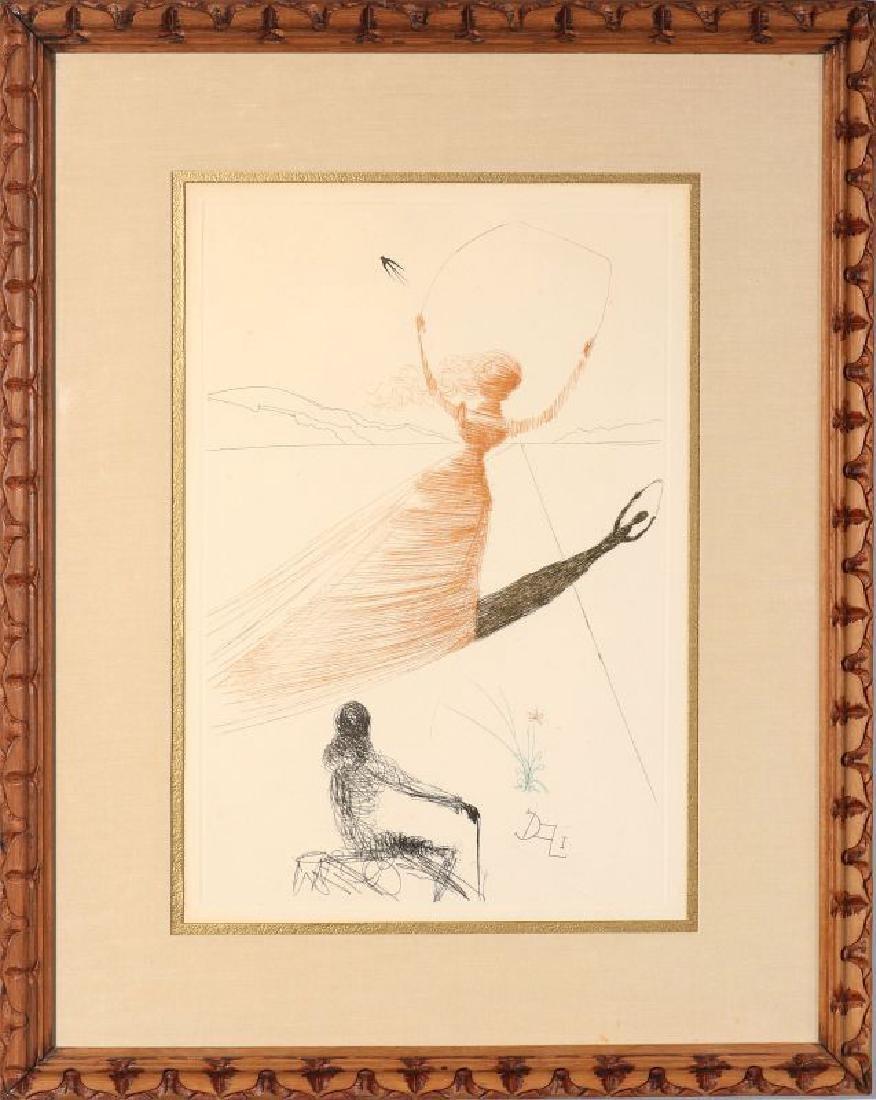 AFTER SALVADOR DALI (1904-1989) ALICE IN WONDERLAND - 2