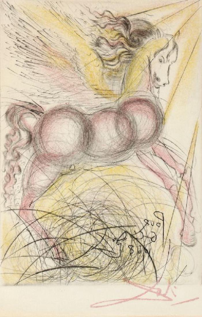 AFTER SALVADOR DALI (1904-1989), 'PEGASUS'