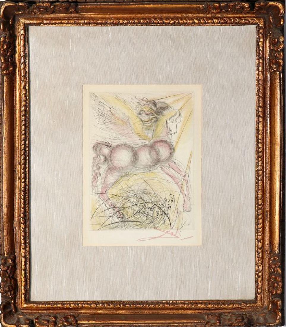 AFTER SALVADOR DALI (1904-1989), 'PEGASUS' - 2