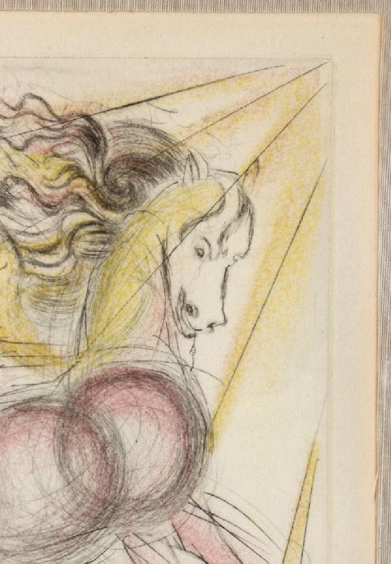AFTER SALVADOR DALI (1904-1989), 'PEGASUS' - 4