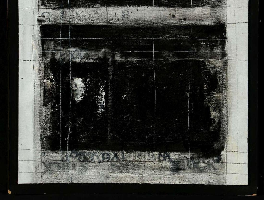 JOHN ALAN STOCK (b. 1945) MIXED MEDIA. TWO WORKS - 3