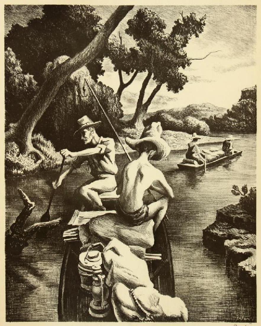 AFTER THOMAS HART BENTON (1889-1975) OFFSET LITHO