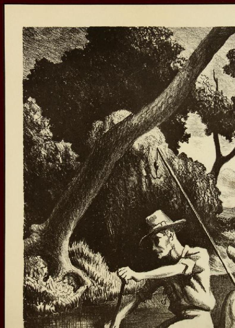 AFTER THOMAS HART BENTON (1889-1975) OFFSET LITHO - 3