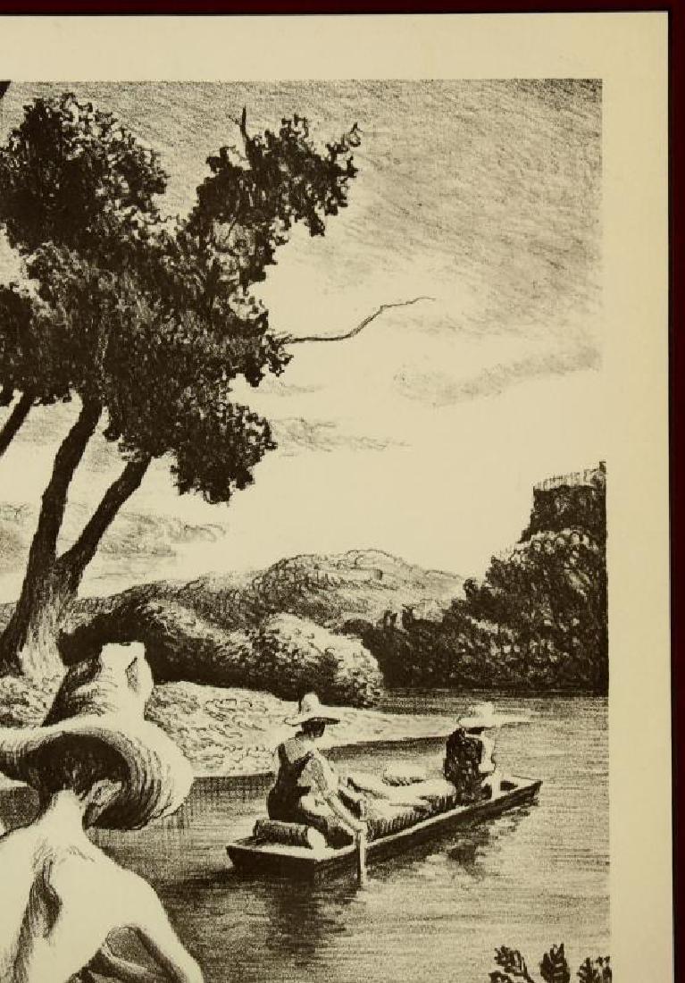 AFTER THOMAS HART BENTON (1889-1975) OFFSET LITHO - 4