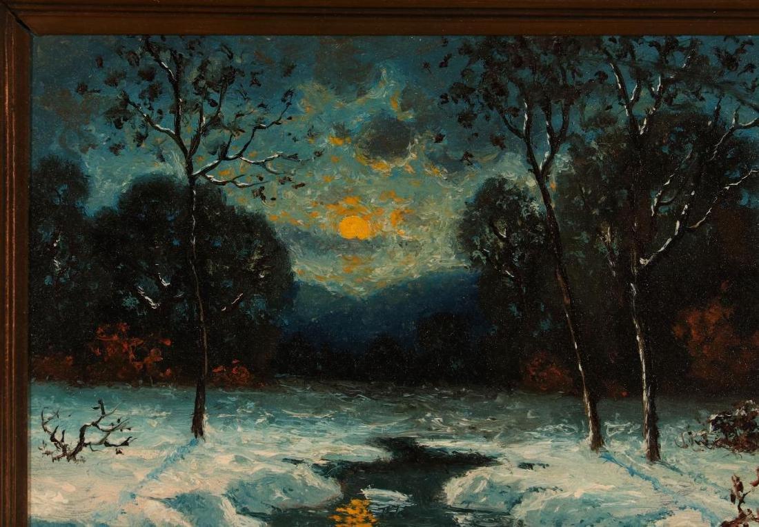 CARL HENRIK JONNEVOLD (1856-1955) OIL ON BOARD - 3