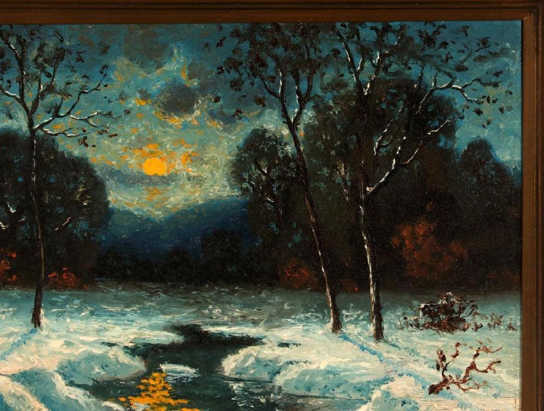 CARL HENRIK JONNEVOLD (1856-1955) OIL ON BOARD - 4