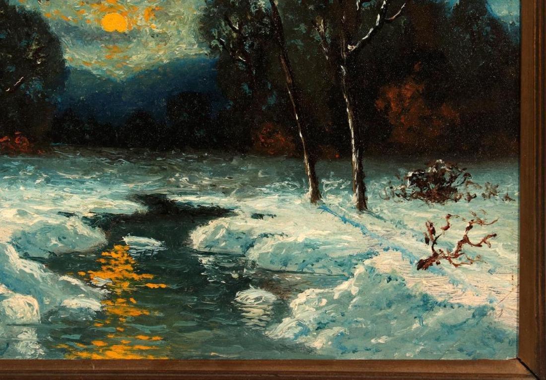 CARL HENRIK JONNEVOLD (1856-1955) OIL ON BOARD - 5