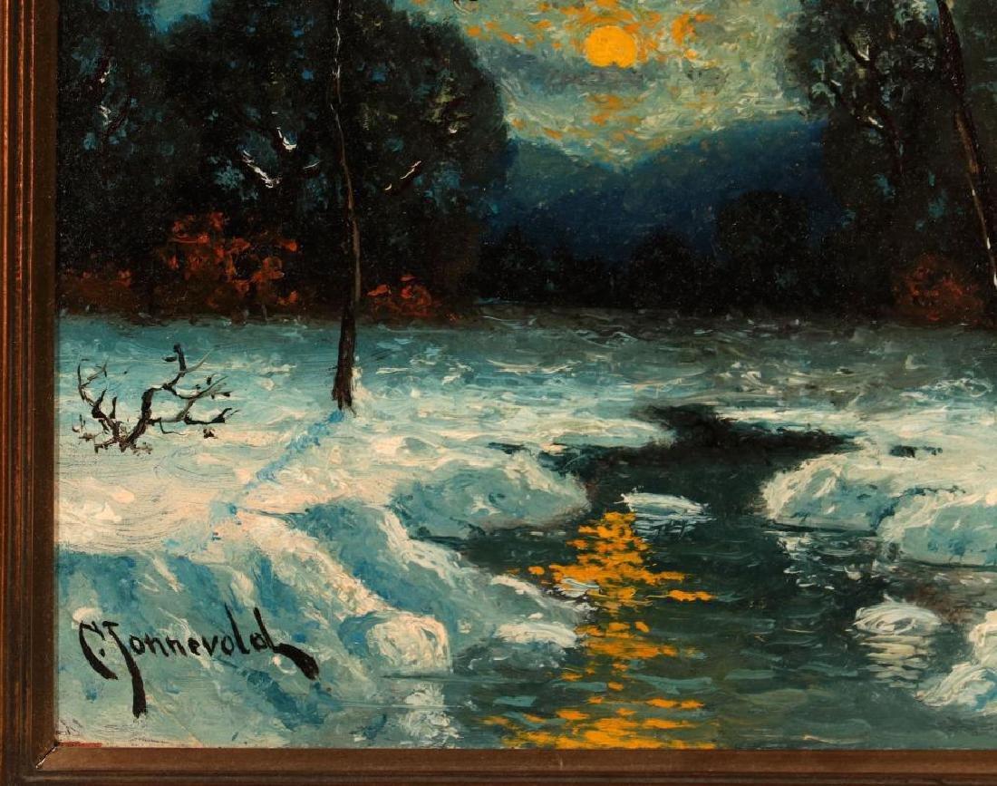 CARL HENRIK JONNEVOLD (1856-1955) OIL ON BOARD - 6