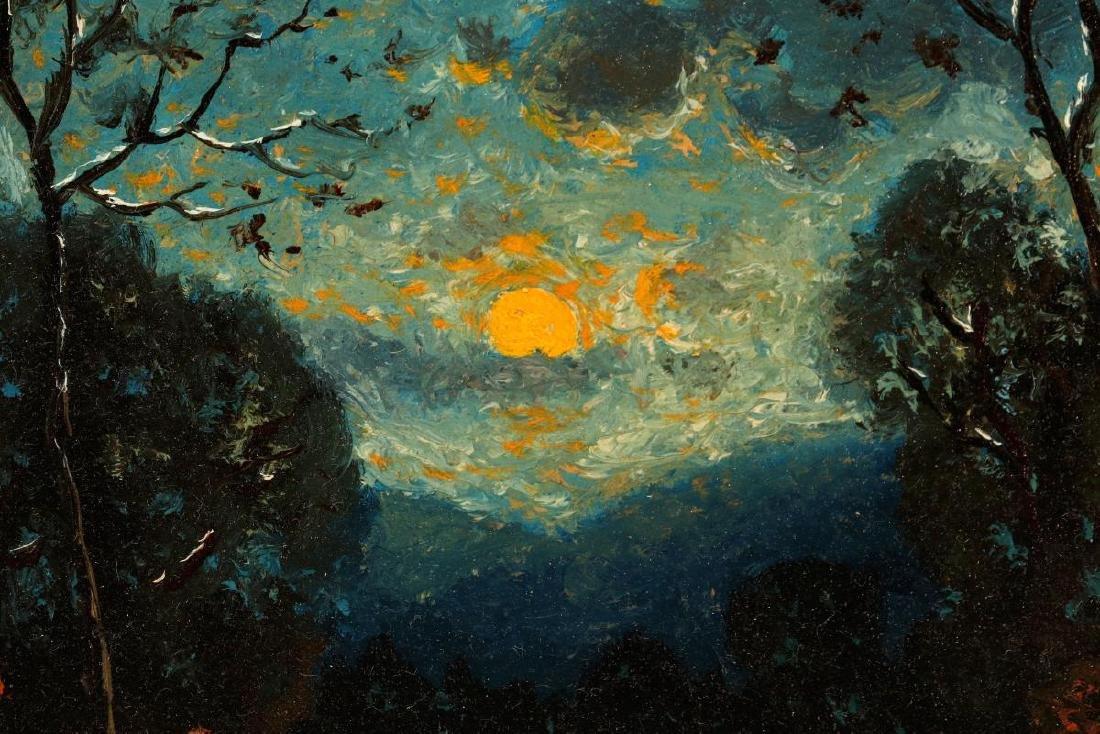 CARL HENRIK JONNEVOLD (1856-1955) OIL ON BOARD - 8