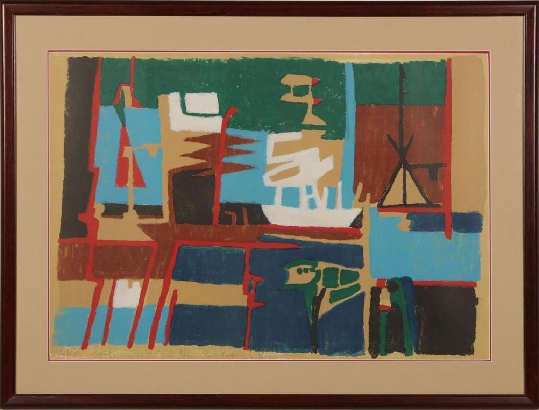 RUTH KERKOVIUS (BORN 1921) SIGNED SERIGRAPH - 2