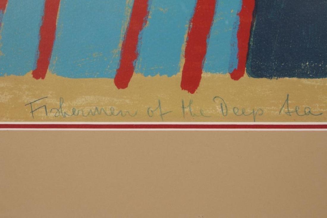 RUTH KERKOVIUS (BORN 1921) SIGNED SERIGRAPH - 8