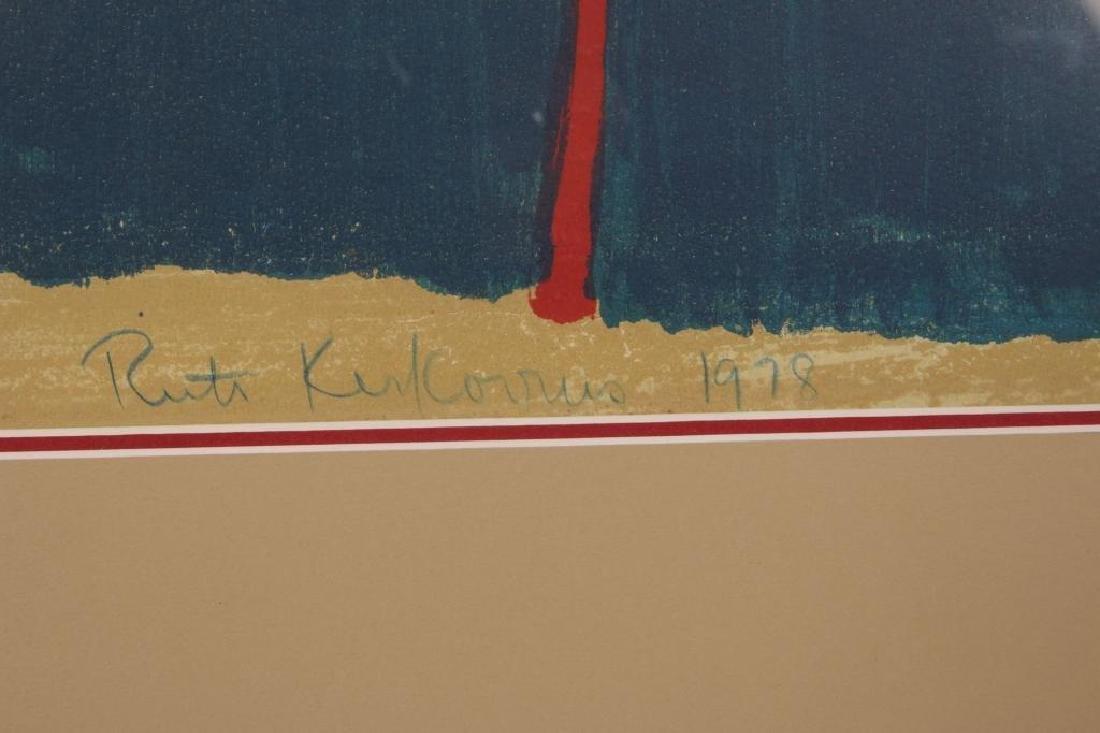RUTH KERKOVIUS (BORN 1921) SIGNED SERIGRAPH - 9