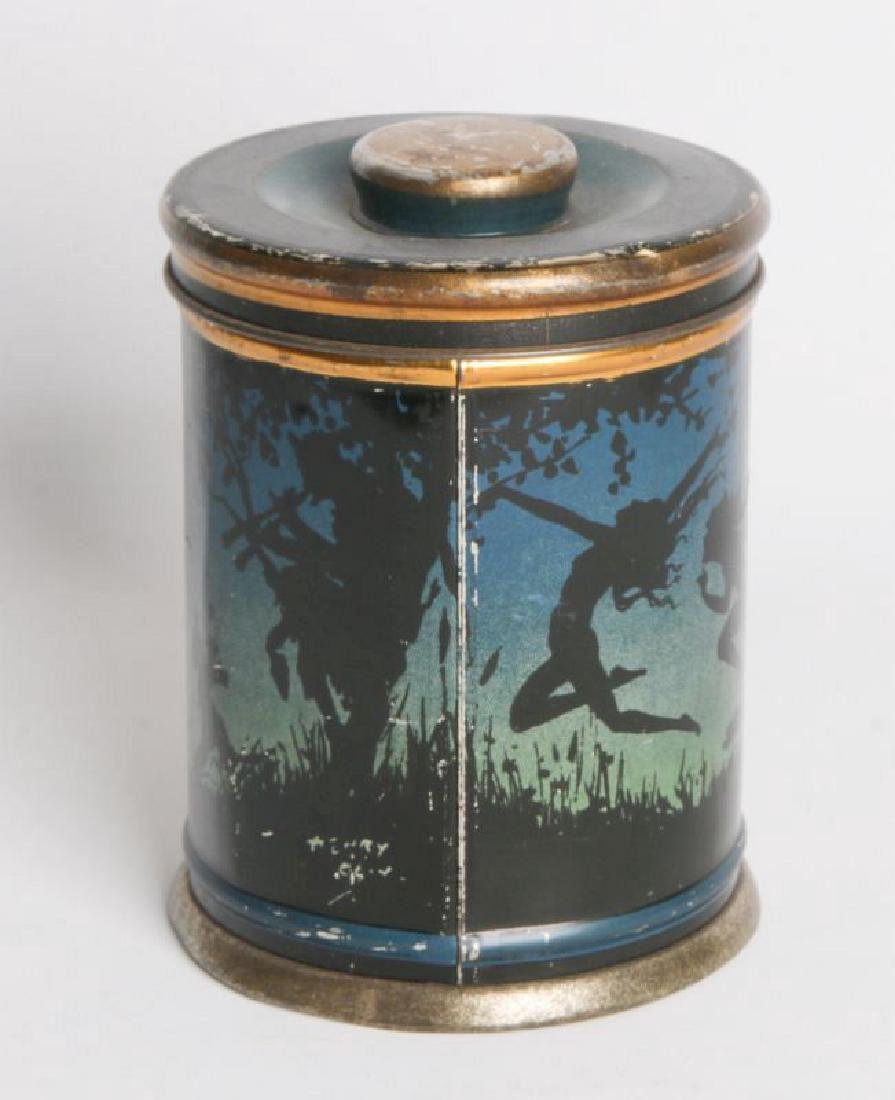 A BEANIEBOX TIN LITHO BISCUIT TIN - 3