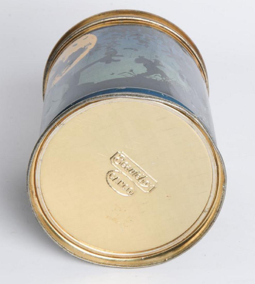 A BEANIEBOX TIN LITHO BISCUIT TIN - 6