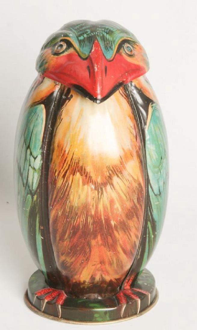 A BLUE BIRD TIN LITHO BISCUIT TIN CIRCA 1911