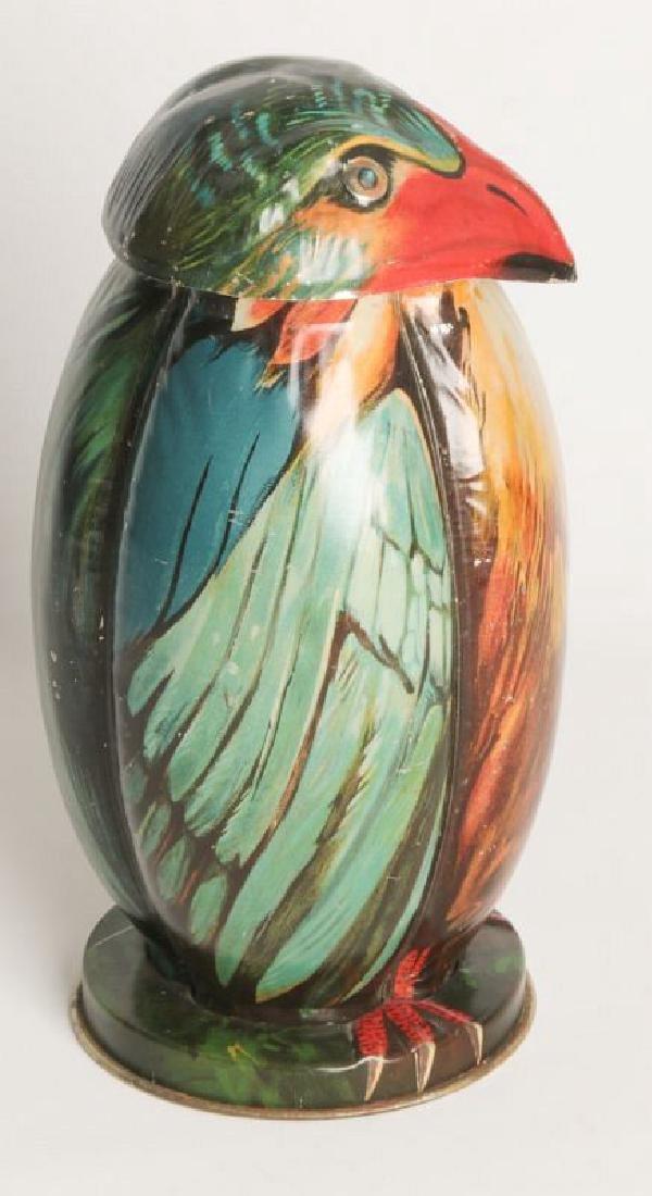 A BLUE BIRD TIN LITHO BISCUIT TIN CIRCA 1911 - 2