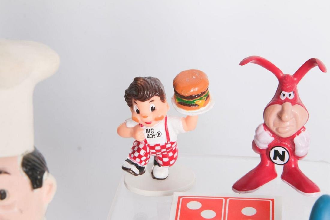 SEVEN FAST FOOD AND PIZZA ADVERTISING MASCOTS - 2