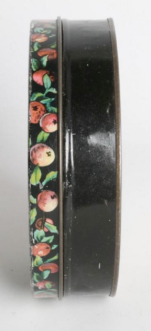 A HALLOWEEN THEME TIN LITHO BISCUIT TIN - 2