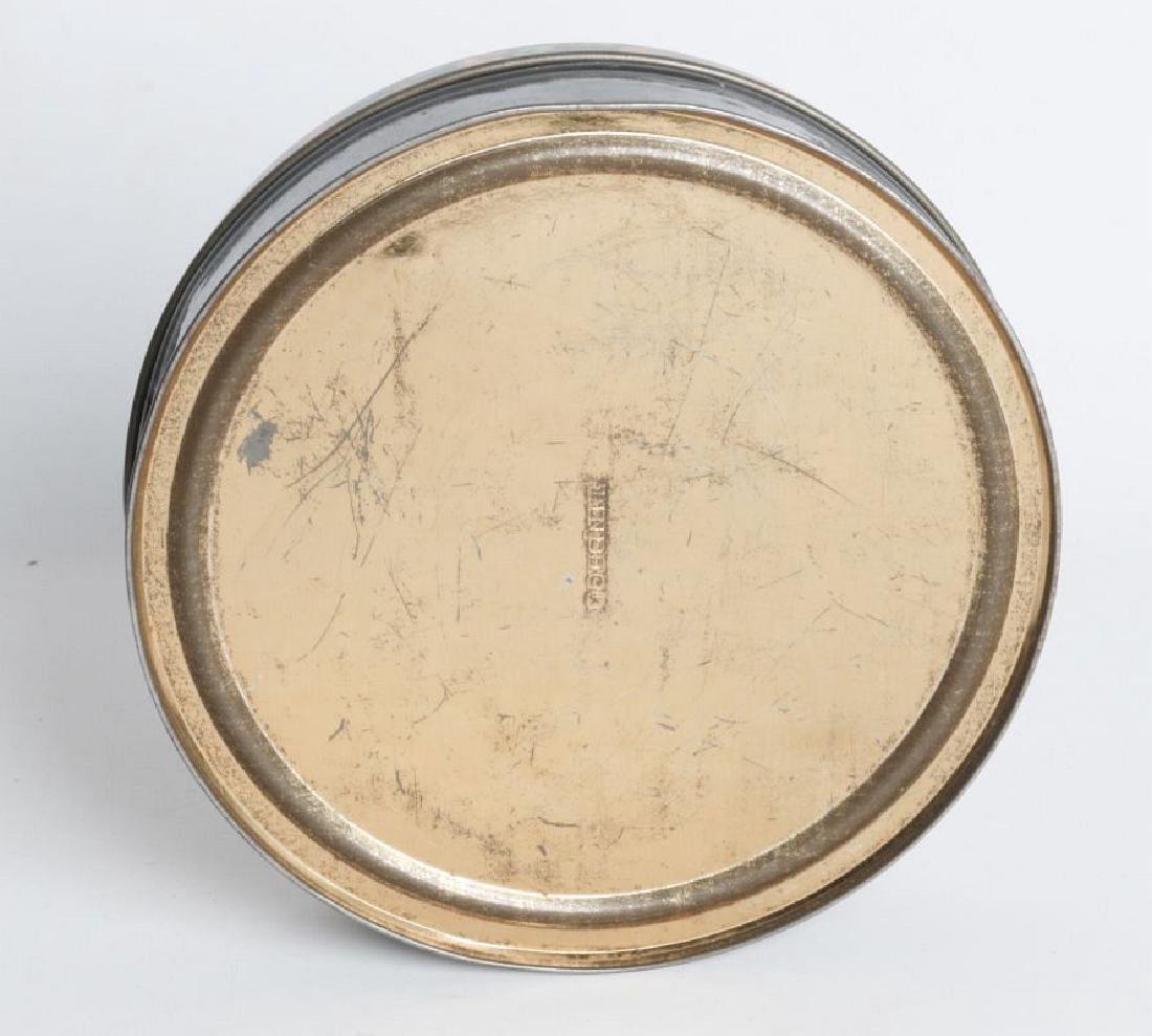 A HALLOWEEN THEME TIN LITHO BISCUIT TIN - 3