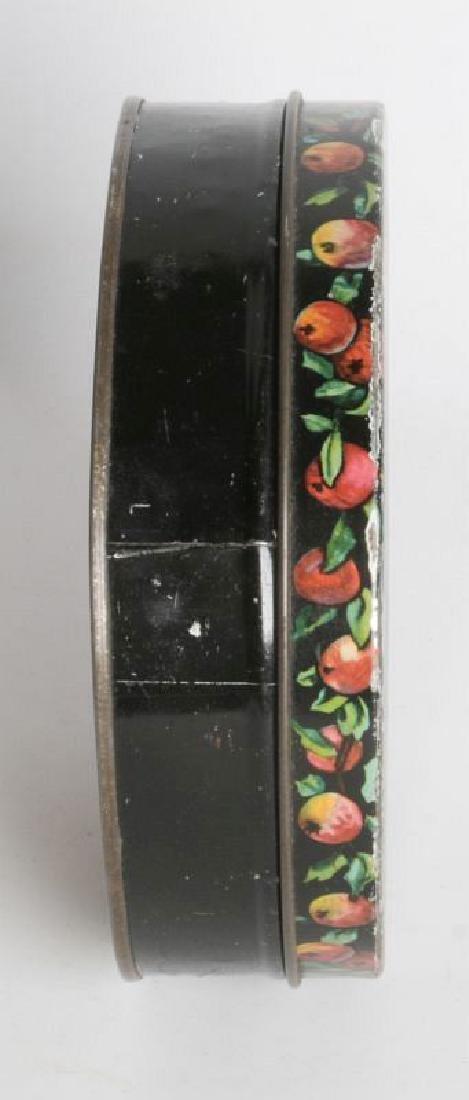 A HALLOWEEN THEME TIN LITHO BISCUIT TIN - 4