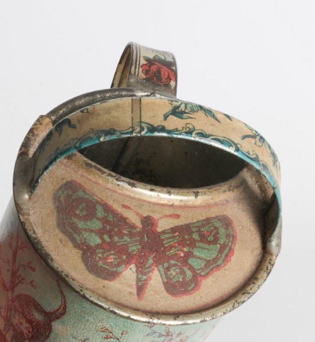 A VICTORIAN CHILD'S TIN LITHO WATERING CAN - 5