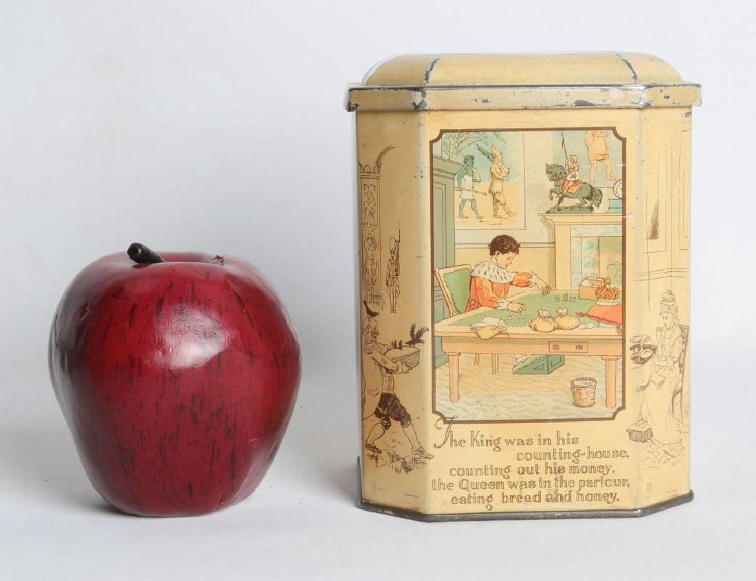 SONG FOR SIX PENCE' TIN LITHO TEA TIN - 8