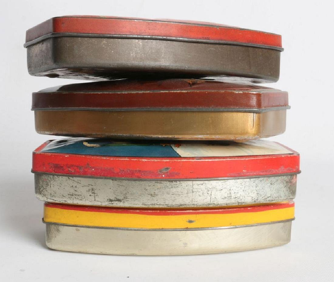 FOUR RILEY'S TOFFEE TIN LITHO TOFFEE TINS - 7