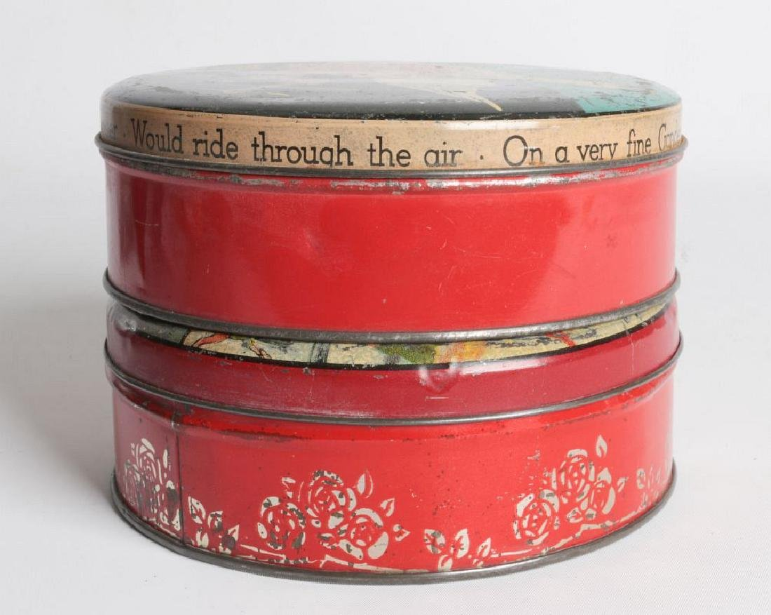 PIED PIPER AND MOTHER GOOSE LITHOGRAPHED TINS - 6