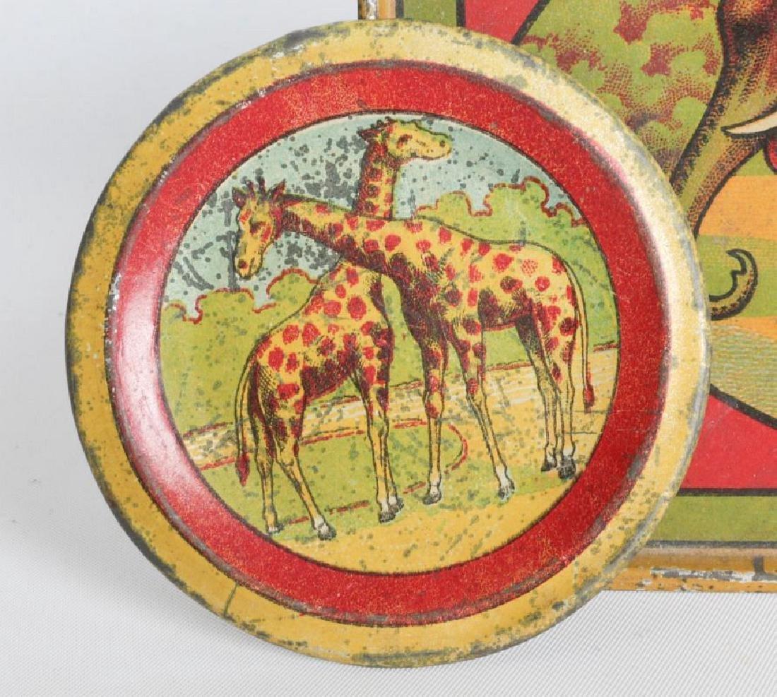 A 1910s CIRCUS/AFRICAN ANIMAL THEME TIN LITHO SET - 6