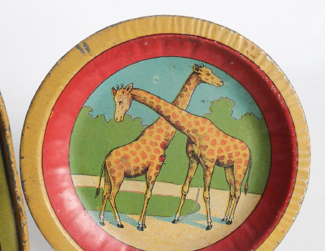 A 1910s CIRCUS/AFRICAN ANIMAL THEME TIN LITHO SET - 7