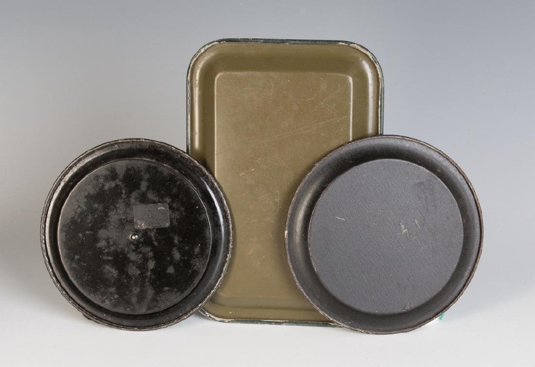 BEER AND CIGAR ADVERTISING TIP TRAY AND COASTERS - 8