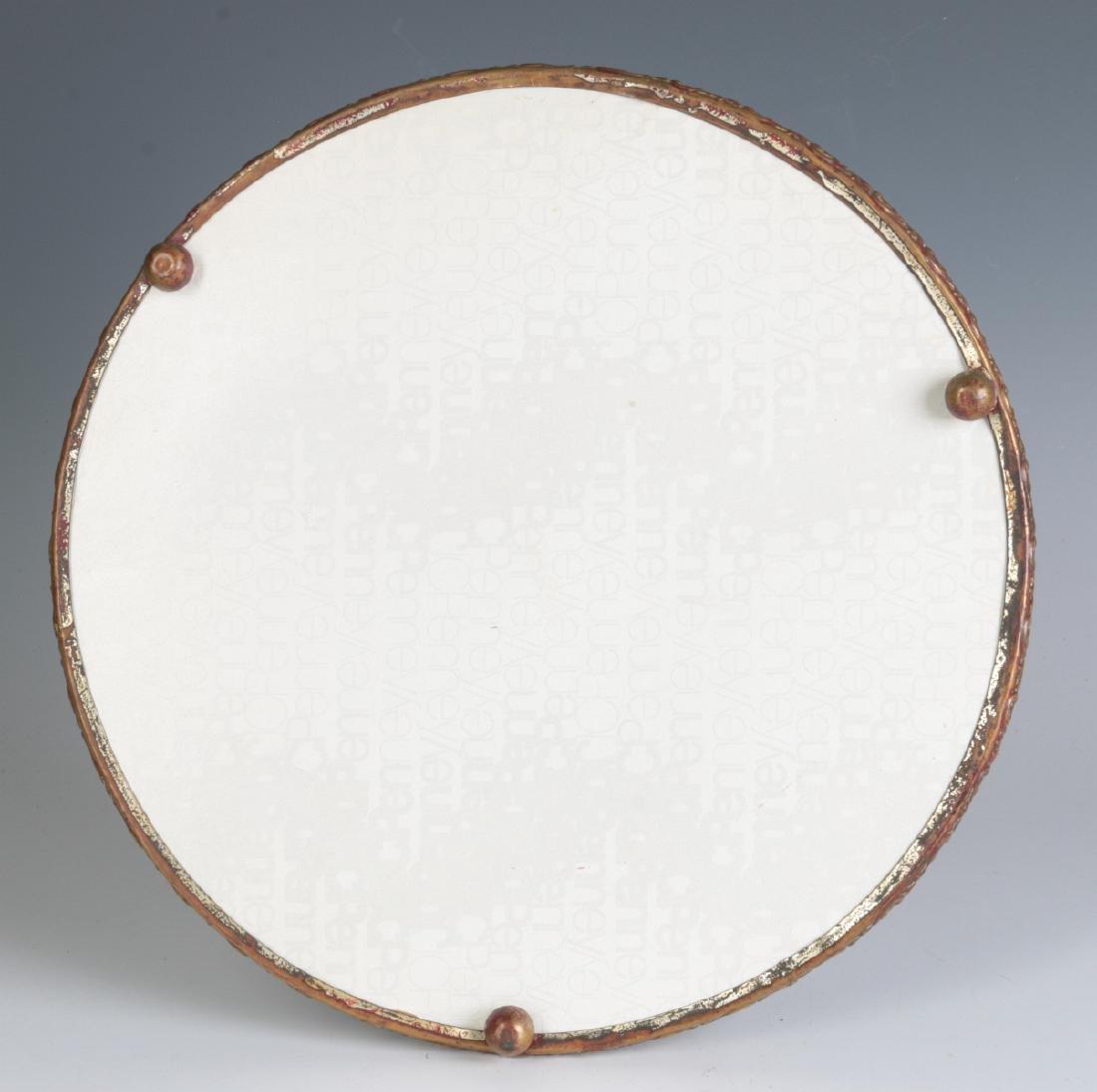 AN 1893 CHROMOLITHOGRAPH CALENDAR BEHIND GLASS - 5