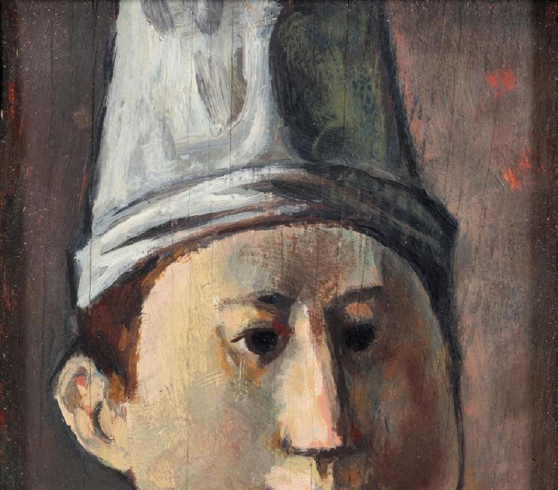 LESTER RAYMER (1907-1991) OIL ON PANEL, 1963 - 3