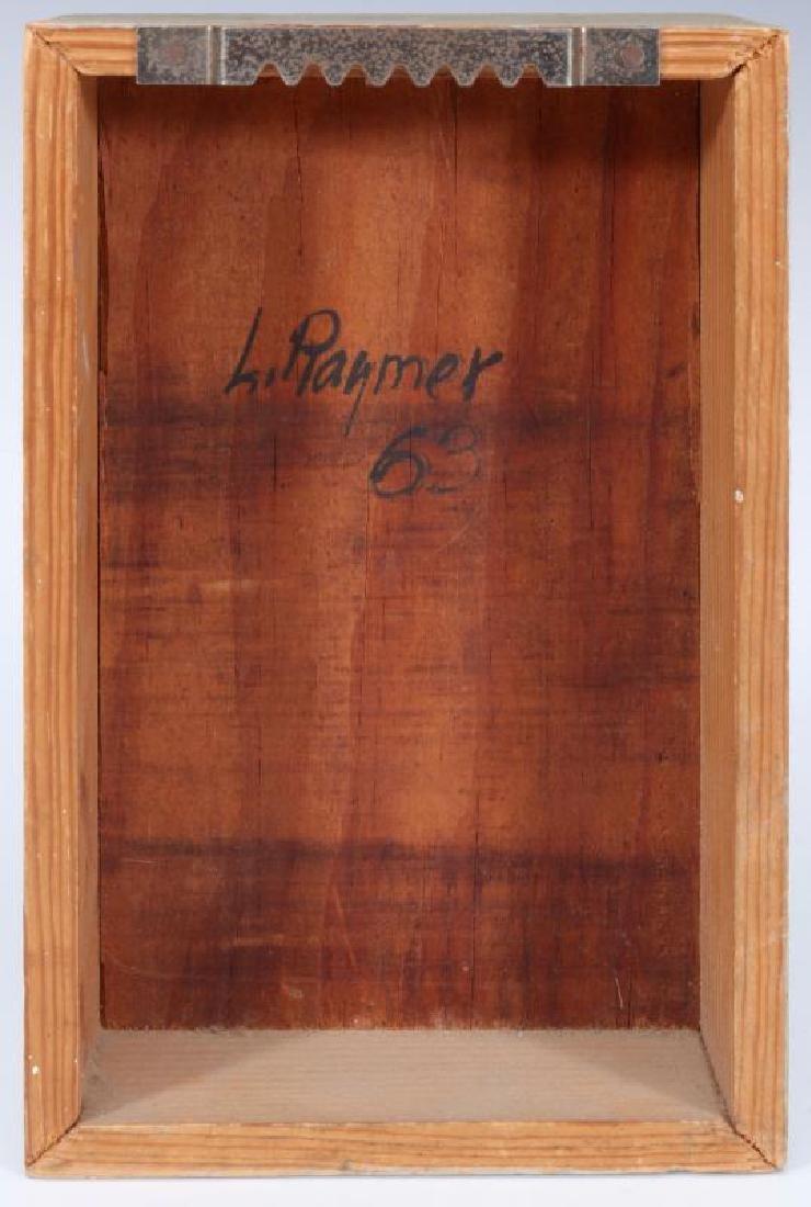 LESTER RAYMER (1907-1991) OIL ON PANEL, 1963 - 6