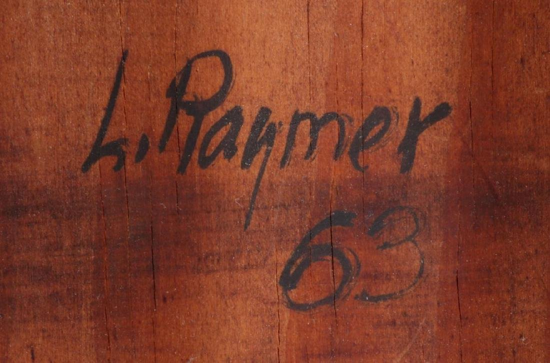 LESTER RAYMER (1907-1991) OIL ON PANEL, 1963 - 7