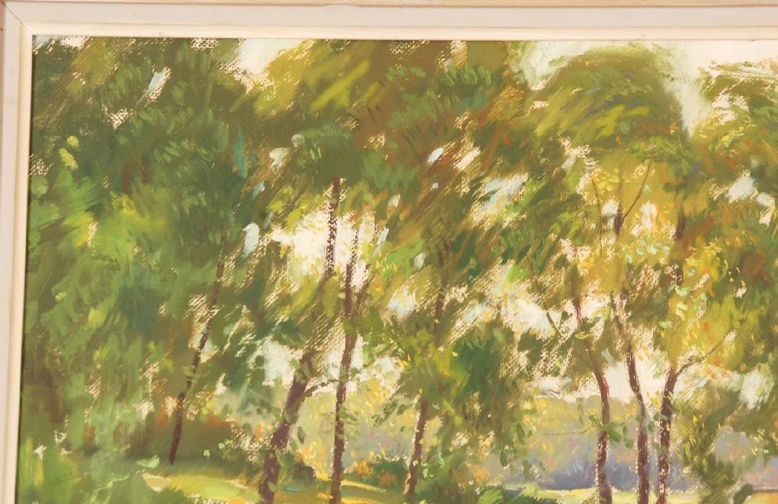 WAYNE MORRELL (1923-2013) OIL ON CANVAS LANDSCAPE - 3