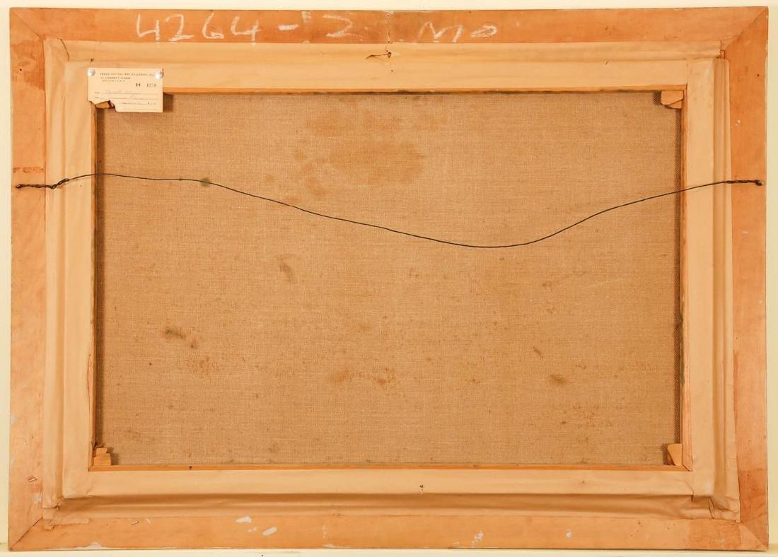 WAYNE MORRELL (1923-2013) OIL ON CANVAS LANDSCAPE - 8