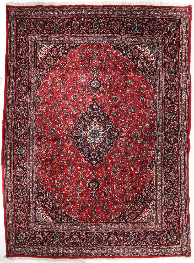 A LATE 20TH CENTURY INDO-PERSIAN ROOM SIZE RUG