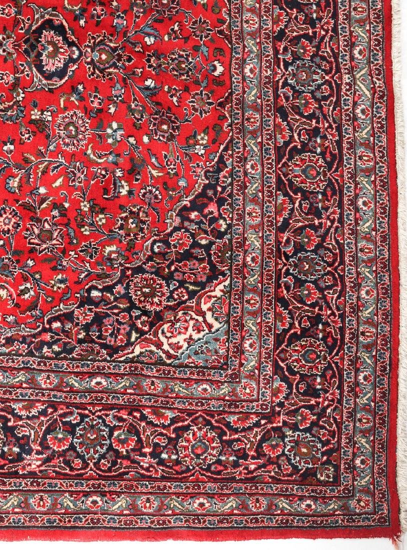 A LATE 20TH CENTURY INDO-PERSIAN ROOM SIZE RUG - 2