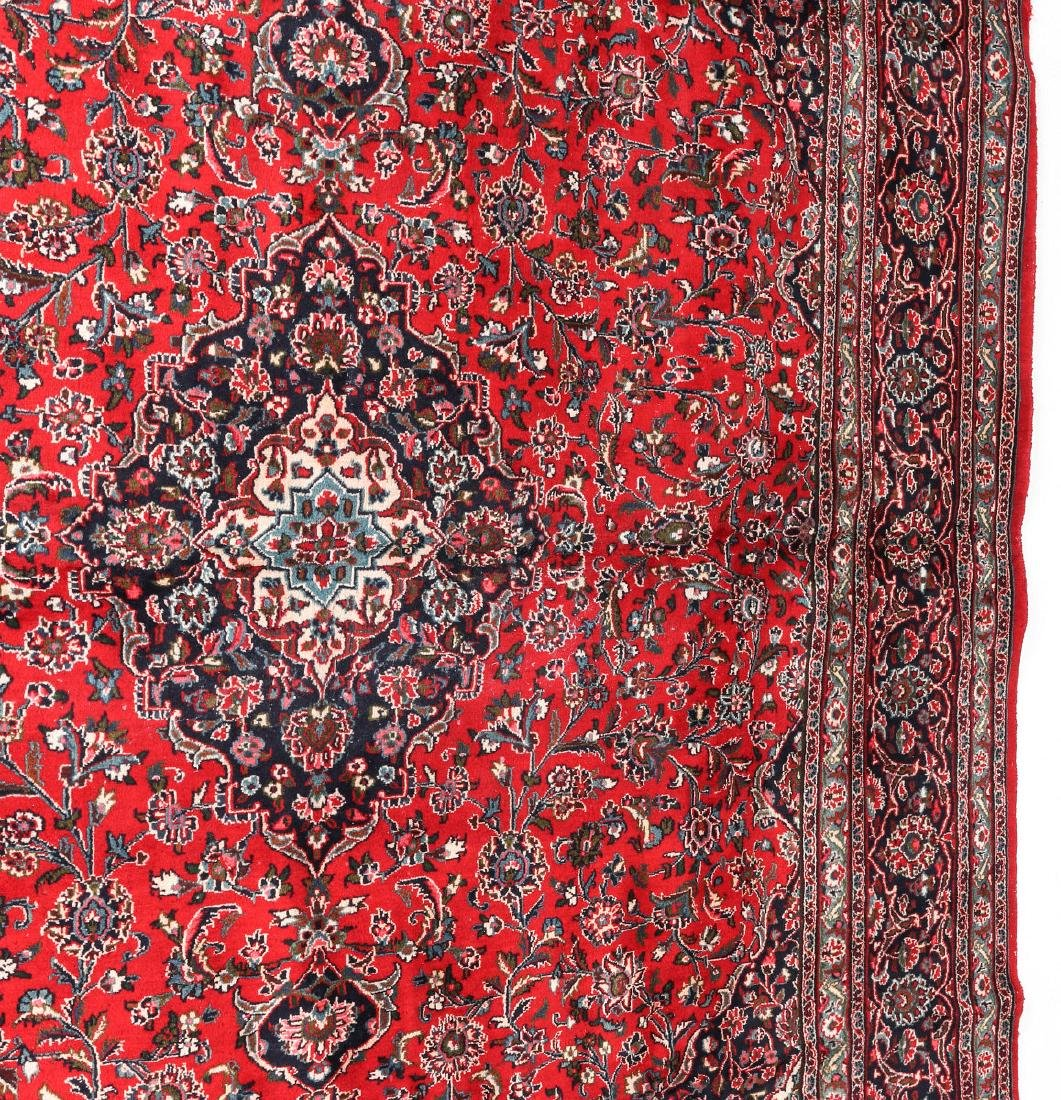 A LATE 20TH CENTURY INDO-PERSIAN ROOM SIZE RUG - 6