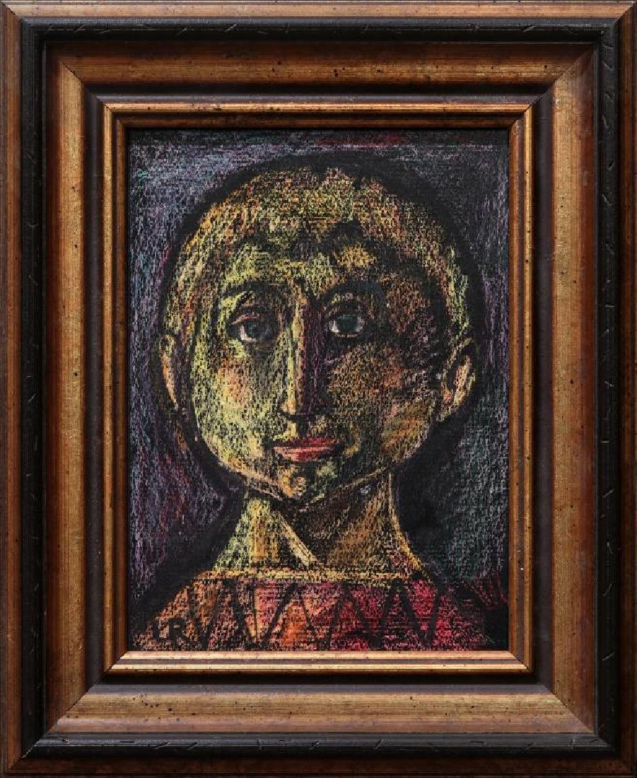 LESTER RAYMER (1907-1991) CRAYON ON PAPER - 7